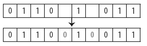 Vul rijen in een binaire puzzel aan